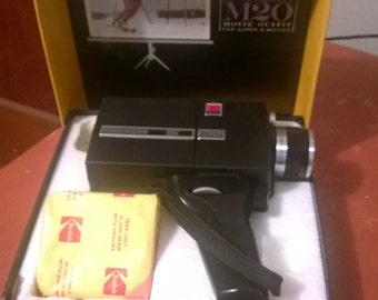 Kodak Instamatic M20 super 8 movie camera