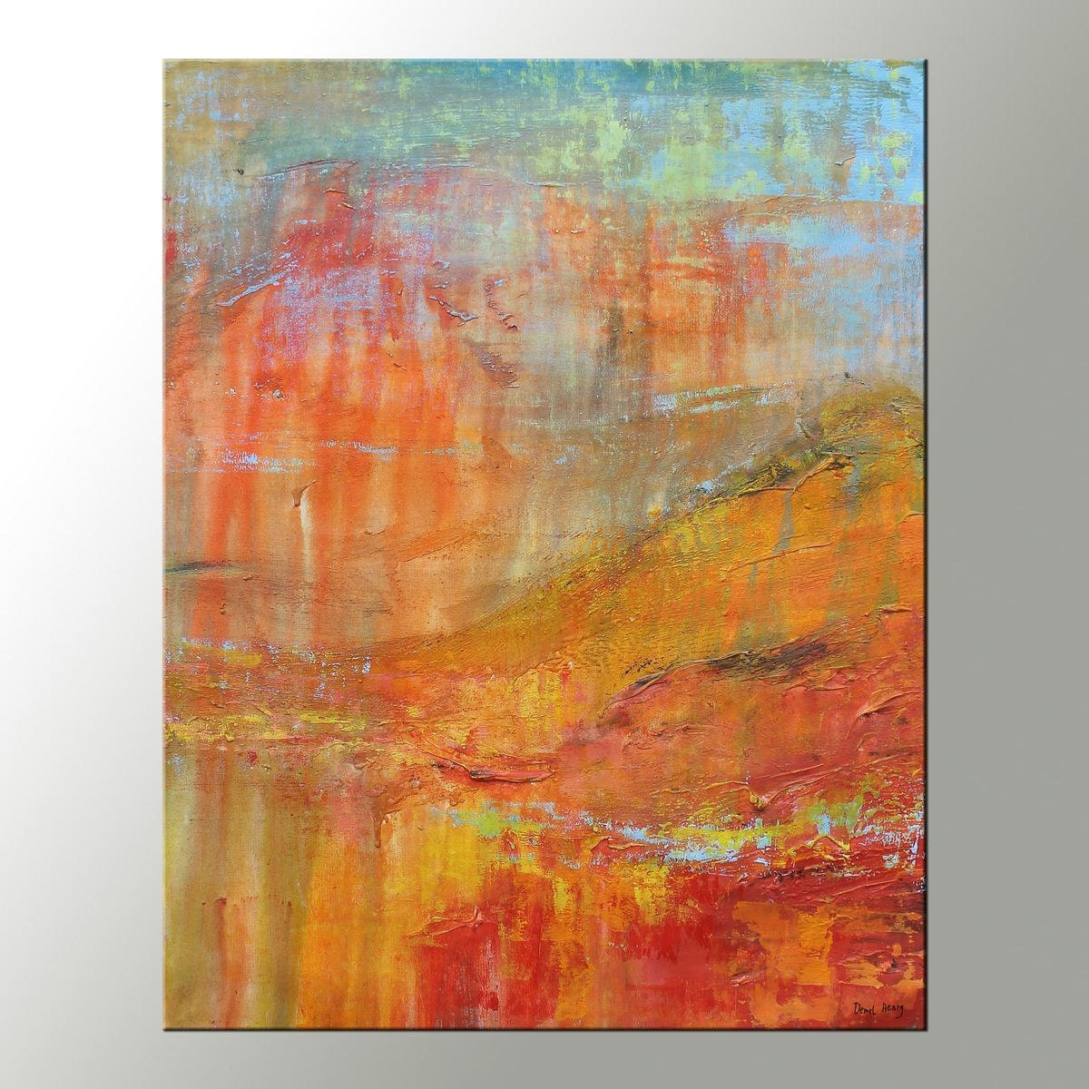 Canvas Painting Kitchen Decor Contemporary Art Abstract