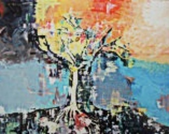 13x19 Print Tree of Opportunity Pixelated