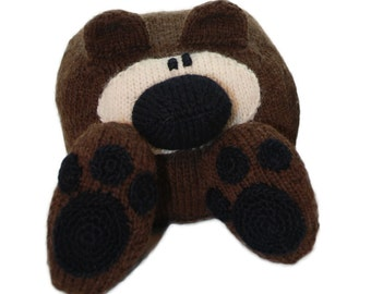 Knitting Pattern Martin the Bear PDF INSTANT DOWNLOAD