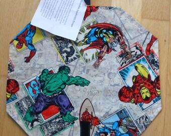Superhero reuseable sandwich wrap