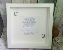 Angel Baby Framed verse/poem for a lost/angel baby.Lost Baby verse, Bereavement gift