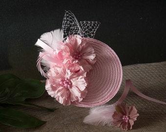 Fascinator Pink