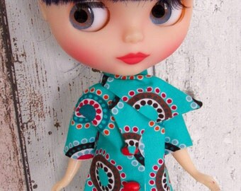 Blythe coat and scarf