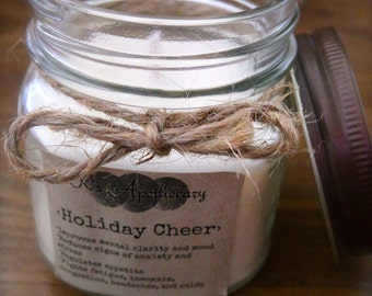 Holiday Cheer soy wax candle