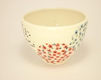 Dainty flower cup
