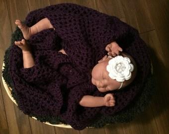 Crochet Flower Baby Headbands
