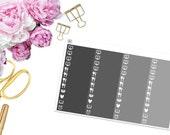 Monochromatic Little Things -- Matte Planner Stickers