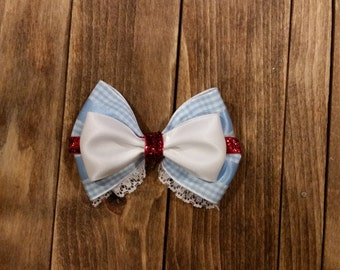 Dorothy Gale Inspired Bow