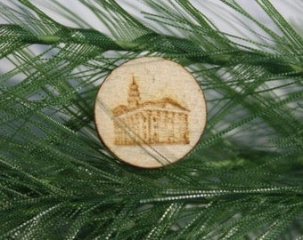 LDS Temple Tie Tack or Pin