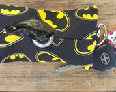 Batman Doggie Waste Bag Dispenser Keychain