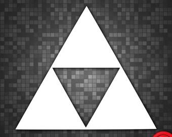 Legend of Zelda Triforce Vinyl Decal