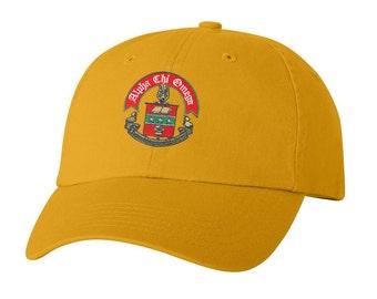 Alpha Chi Omega Crest Hat