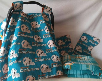 Miami Dolphins baby set