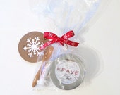 Xmas gift set sugar scrub, Bath and Beauty, gift for her, stocking stuffer, gift under 15, gift for coworker, gift for babysitter, teen gift