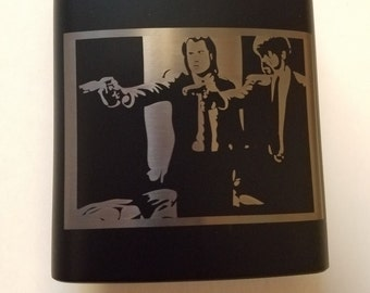 Pulp Fiction - 6 oz Flask