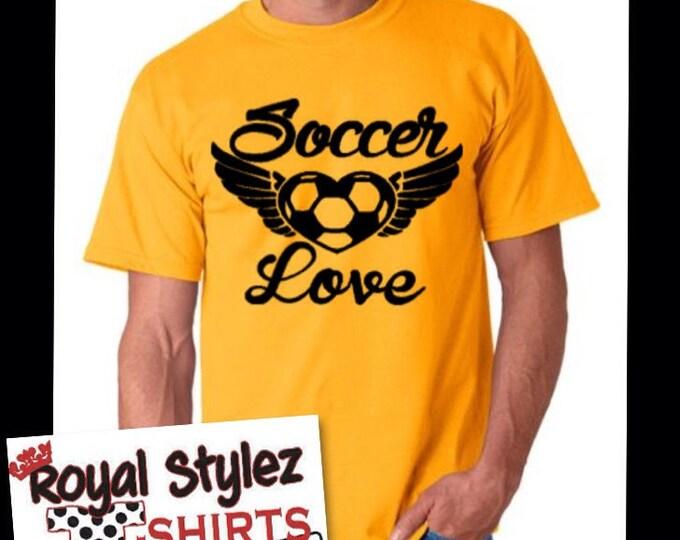 Soccer Love Tee