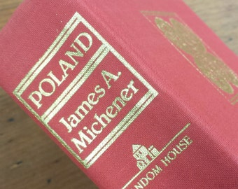 Poland by James Michener, Hardcover Book, Historical Fiction