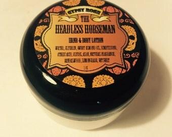 The Headless Horseman Limited Edition Halloween Sandalwood Lemongrass Vetiver Hand Body Lotion - Gypsy Rose Cosmetics