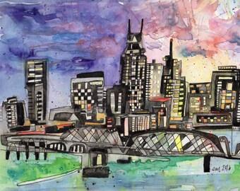 Nashville Skyline - PAiNtBABies