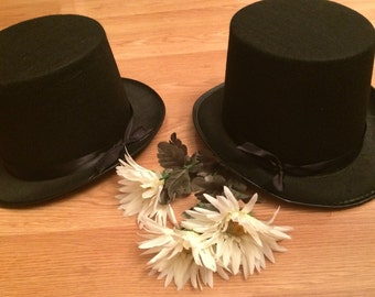 Wedding Groom Groomsmen Jr Groom Top Hat
