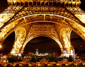 Paris at Night, wall art, Eiffel Tower
