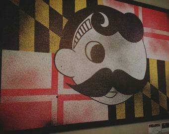 Natty Boh | Maryland Flag