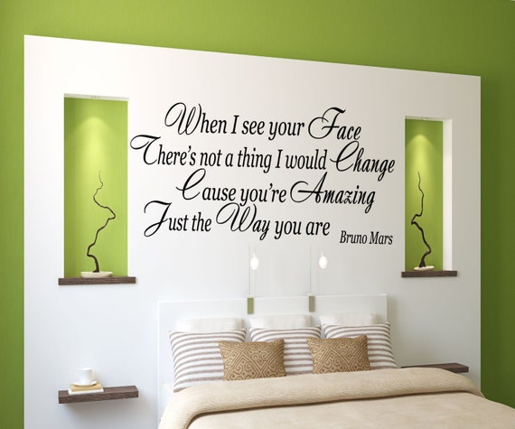 You Re Amazing Words: Cause You're Amazing : Lyrics Wall Or Window Decal