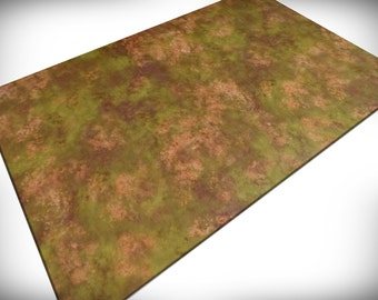 """Wargaming Terrain - """"Fields of Battle"""" vinyl Gaming Mat for miniatures and other games"""