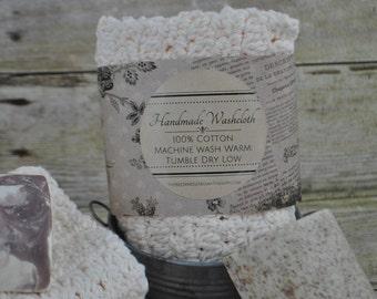 Handmade Washcloth Gift Set