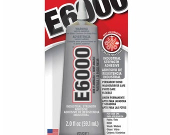 E6000 | All Purpose |  Industrial Strength | Permanent | Craft Adhesive | 2.0 Oz.