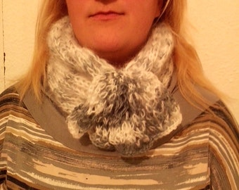 Beautiful infinity wool scarf