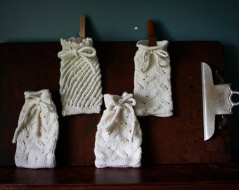 Organic Cotton Knitted Soap Savers