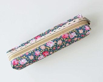 Floral Pencil Case 04