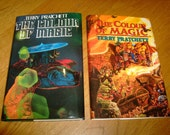 Terry Pratchett-The Colour Of Magic-2 d.j's-Signed-1st-HB-F-Hill House-Rare-What An INKVESTMENT