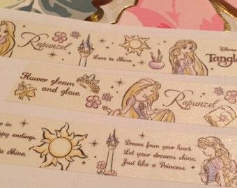 Washi Tape Samples- Disney Tangled Rapunzel Art