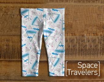 Space Travelers Baby Leggings