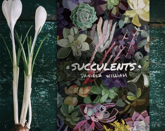 Succulents illustrated fanzine
