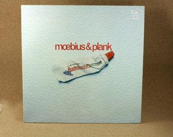 Moebius and Plank - Rastakraut Pasta Vinyl Album - 1980 German Pressing - Sky Records