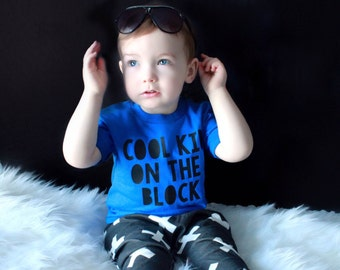 Toddler Graphic Tee / Toddler shirt / Infant shirt / Infant tee / Cool Kid on the Block / Funny kids shirt