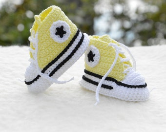 crochet converse,crochet shoes, crochet