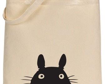 Studio Ghibli Totoro canvas tote bag