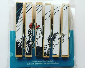 Dr. Seuss Character Clothespins