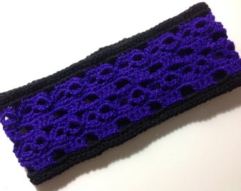 Handmade crochet skull headband all sizes baby kids adult