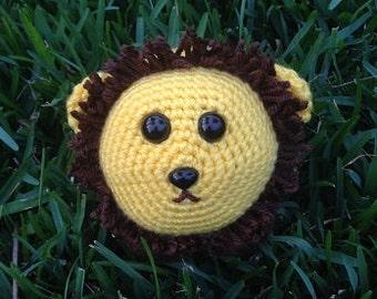 Lion Stuffed Animal - Lion Crochet Plush - Lion Plush Stuffed Animal - Lion Nursery Gift - Lion Amigurumi - Cute Lion Plush