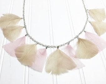 True Feather Necklace