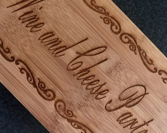 Personalized Laser Engraved Cutting Board