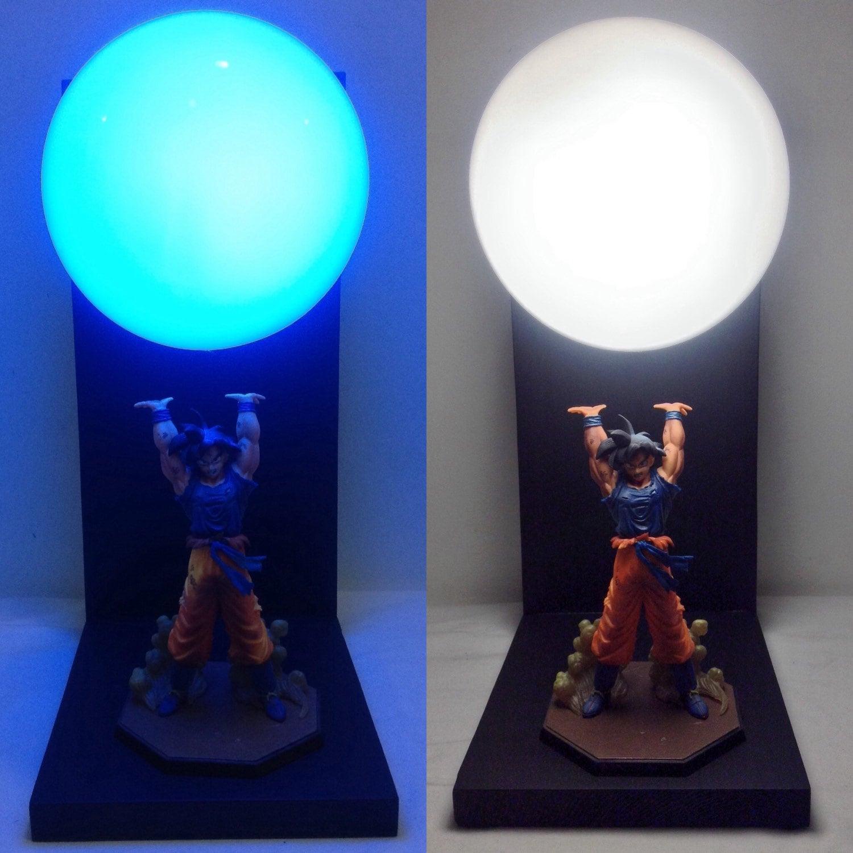 Light Stand Takara Spirit 3: Free Bonus Gift Deluxe Goku Spirit Bomb By LitUpInteriorDesign