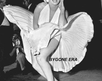 Marilyn Monroe Seven Year Itch Hollywood Poster Art Iconic Photo Artwork 11x14 16x20 or 20x24