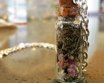 Bottle Spell Necklace